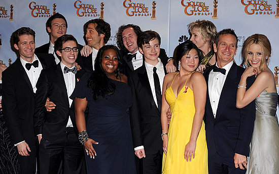 Glee is the winner for this year's Golden Globe in the Best TV Comedy Series