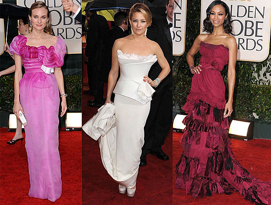 2010 Golden Globe Red Carpet Fashion