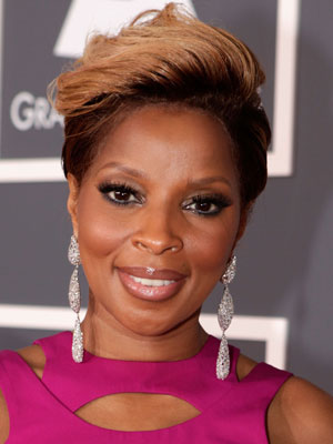 pics of mary j blige hair. Mary J. Blige might not want