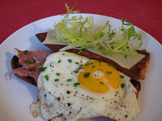 French Bistro Food Menu Share this link