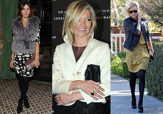 kate moss style. while Kate Moss,