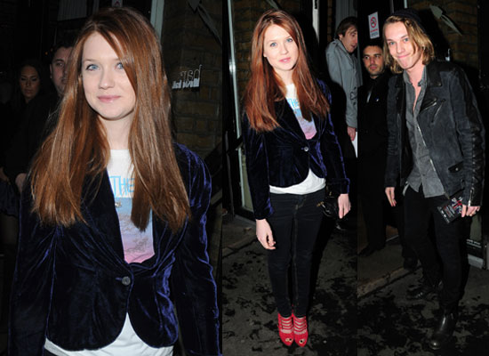 Jamie campbell bower and bonnie wright married