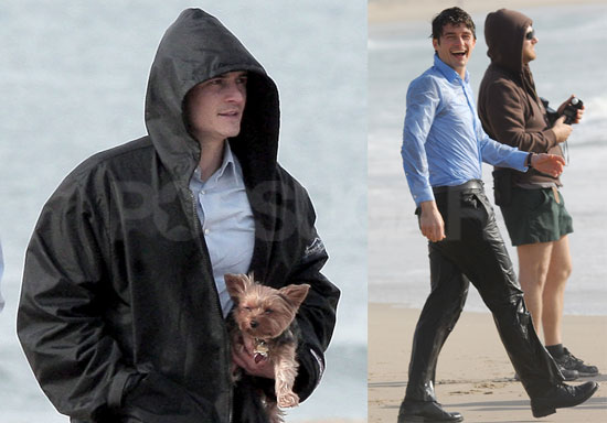 Photos of Orlando Bloom on Set Jumping in the Ocean and ... Miranda Kerr Jewish