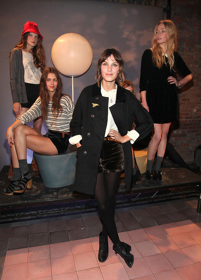 First Look: Alexa Chung's Madewell Collection :  stylish knitwear design collection