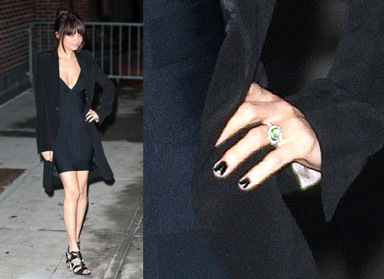 To see more pictures of Nicole and her engagement ring, just read more.