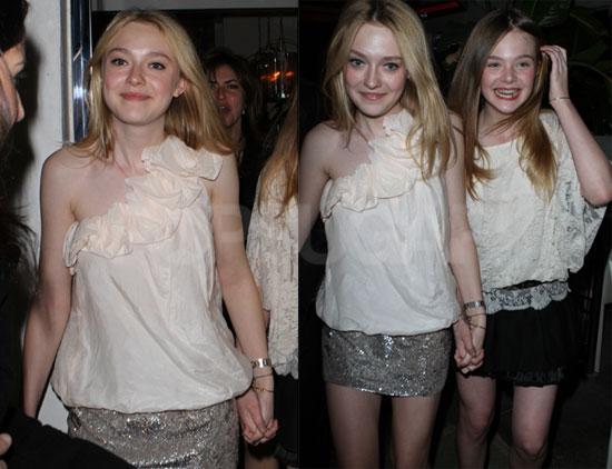 Photos of Dakota Fanning Celebrating Her 16th Birthday in ...