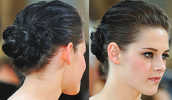 Kristen Stewart Oscars 2010 Hair Pictures and Tutorial