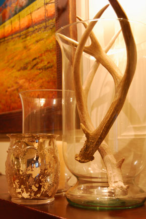 Living A Beautifully Blessed Life Decorating With Antler