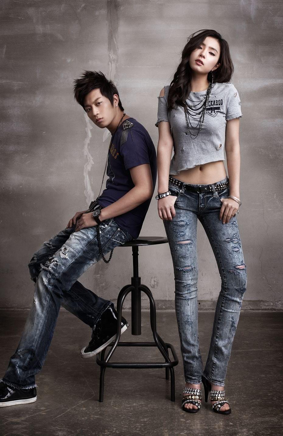 BEAST'S Doojoon and SHIN SE KYUNG for Buckaroo Jeans Spring/Summer ...