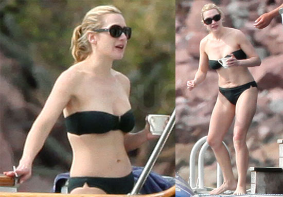 Kate Winslet Bikini Photos in Mexico After Breakup With Sam Mendes