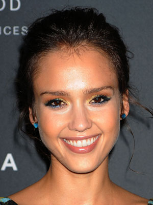 jessica alba makeup looks