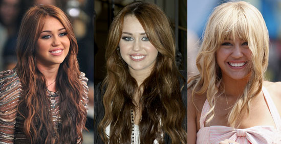 miley cyrus hair colour. Miley#39;s alter ego Hannah