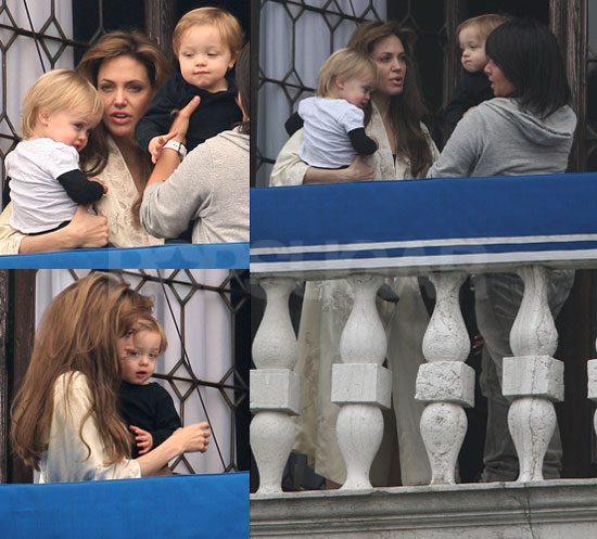 Angelina Jolie Vivienne And Knox. To see more of Angelina and
