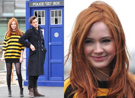 karen gillan doctor who. Karen and Matt were promoting