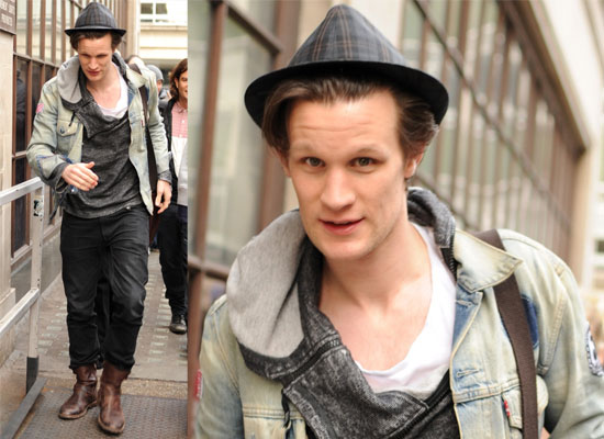 Photos of Matt Smith at Radio 1 in London, Will You Watch Matt Smith