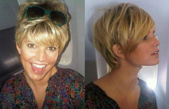 Jessica Simpson with Short Hair