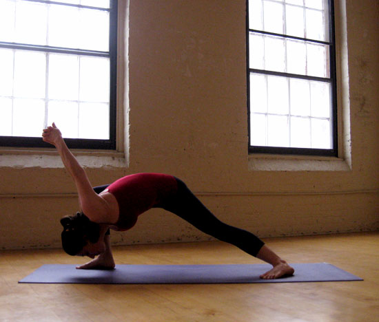 Yoga pose that stretches the hips popsugar fitness for Floor yoga poses