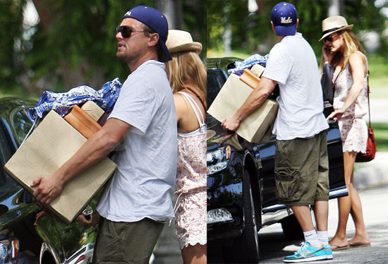 leonardo dicaprio and bar refaeli 2010. His afternoon with Bar seemed