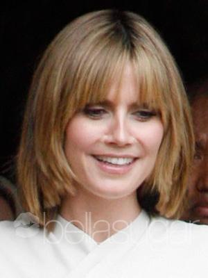 heidi klum hairstyles updos. Heidi Klum#39;s signature