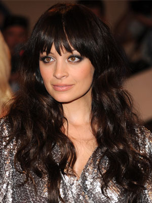 Nicole Richie Long Bob Hairstyle. nicole richie long blonde hair