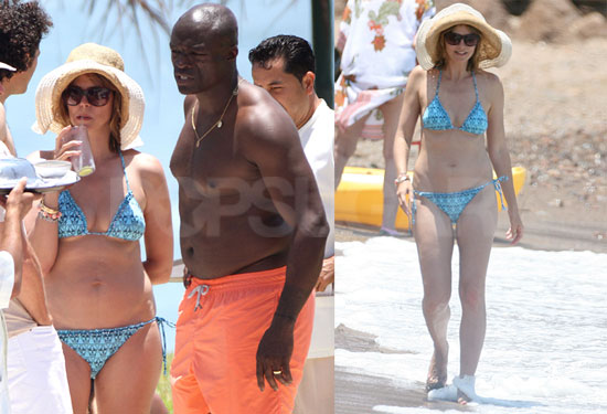 heidi klum and seal wedding vow renewal. vow renewal ceremony.