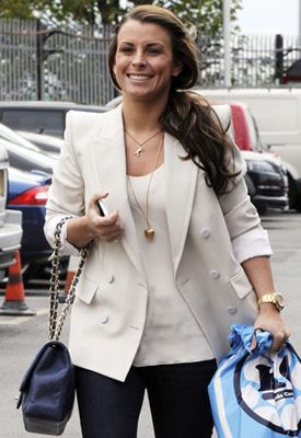 White Blazer as Seen on Kate Moss and Coleen Rooney
