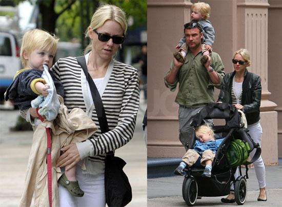 Pictures of Naomi Watts With Liev Schreiber and Their ... Naomi Watts Children