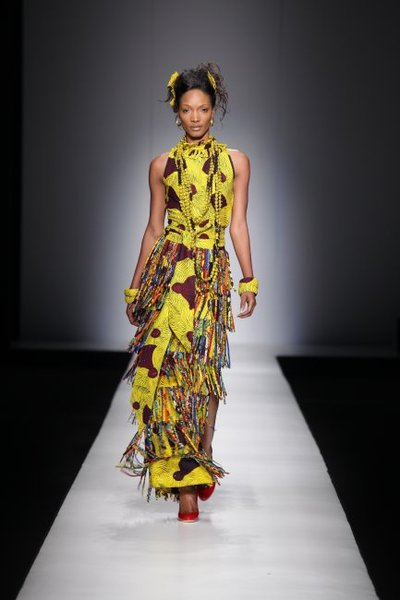 All week, Arise Africa Fashion Week has been taking place in Johannesburg, South Africa. The show features elite designers from the continent in the first of what will become an annual showcase.