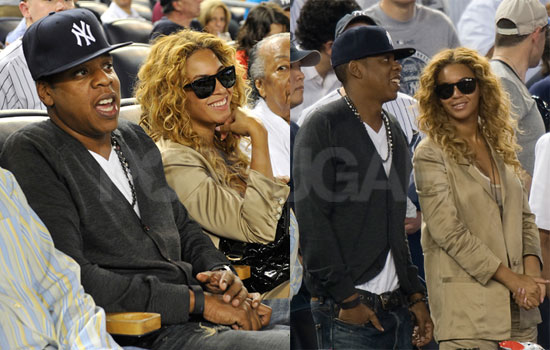 To see more Jay-Z and Beyonce at the game, just read more.