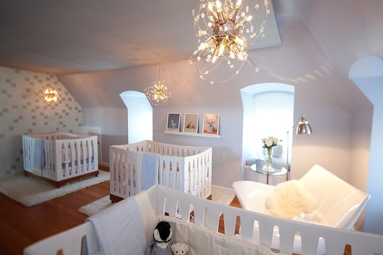 Nurseries for multiples popsugar moms - Habitaciones para gemelos ...