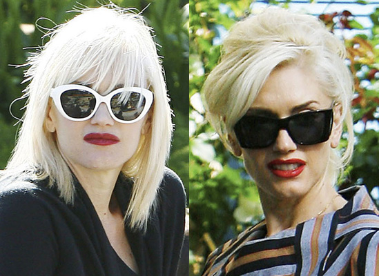 gwen stefani hair commercial. Gwen Stefani spent time with