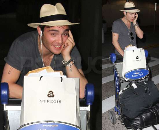 jessica szohr ed westwick 2010. Ed was then spotted on a night