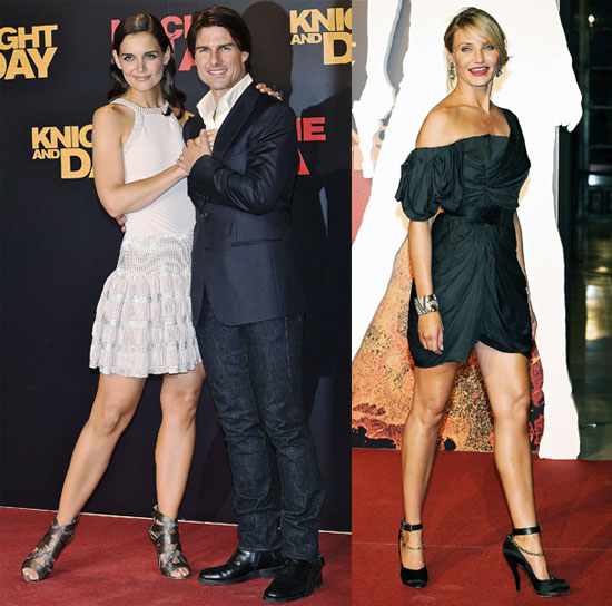 katie holmes and tom cruise height. Tom has been constantly