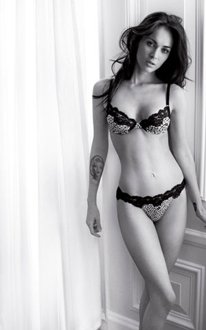 Megan Fox Armani Underwear Ad