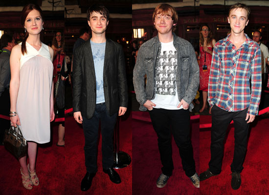 Pictures of Harry Potter Cast at Wizarding World Including Bonnie ...