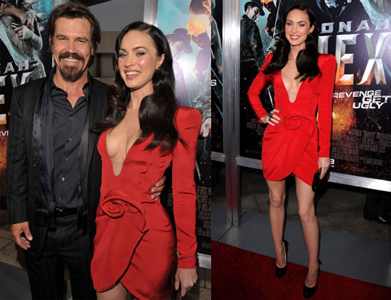 Megan Stays Busy Premiering Jonah Hex but Plans to Wait on Marrying    Josh Brolin Kids