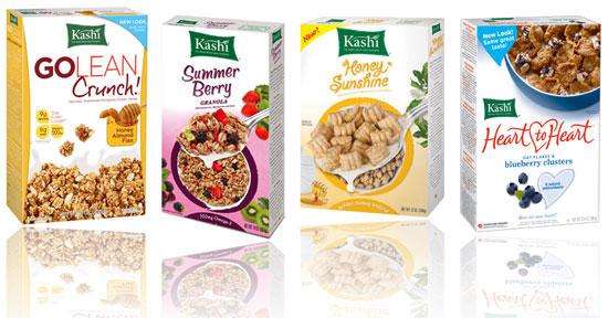 Kashi Cereal Logo Share This Link