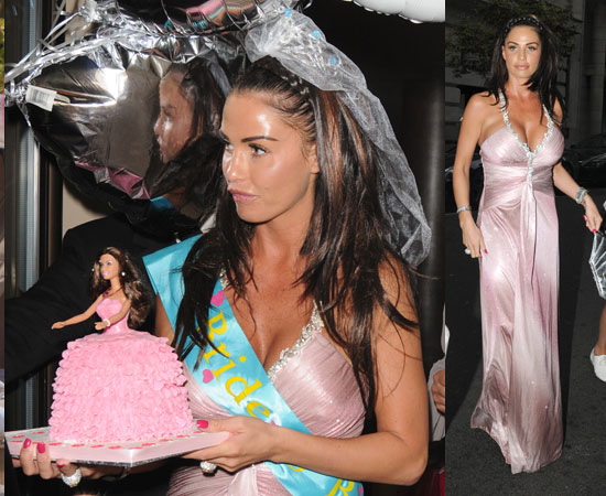 pictures of katie price on hen do in london ahead of