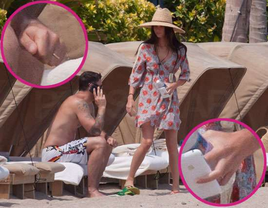 Pics: See Megan Fox and Brian Austin Green's Wedding Rings!