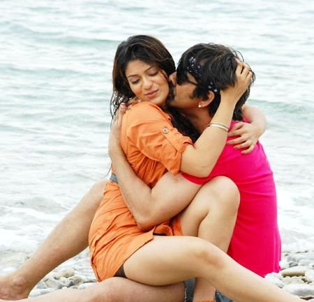 Indian spicy movie couple