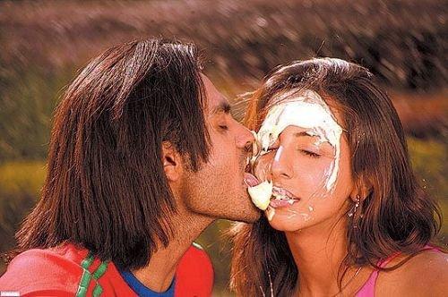 Kannada Actress Kissing Photos
