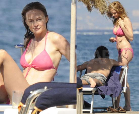 9ea47b42a405f55a heather graham pink bikini 411mania.com: Movies   [Gossip] Heather Graham's Bikini Body Goes On Display