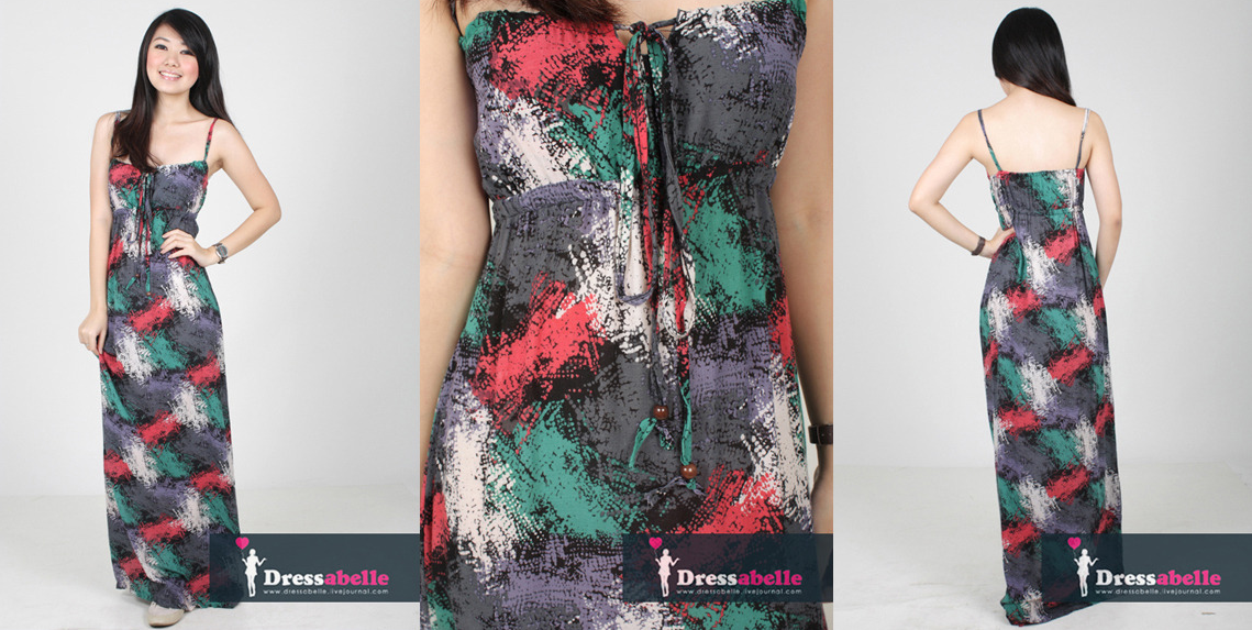 LUSTING AFTER: DRESSABELLEs Fireworks in Fall Maxi Dress.