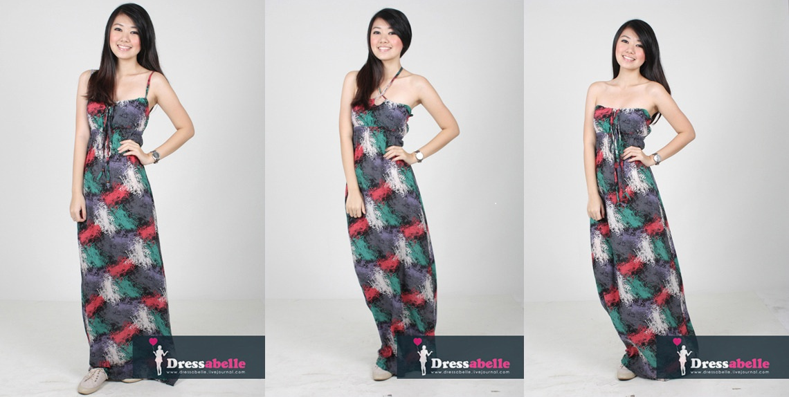 LUSTING AFTER: DRESSABELLE's Fireworks in Fall Maxi Dress.