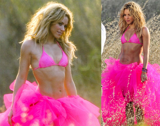 Shakira's fine form didn't make it in time for this year's celebrity hottest ...