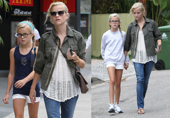 Pictures of Reese Witherspoon With Ava Phillippe in LA ...