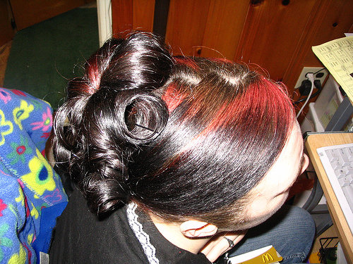Tagged with: curly prom hairstyle, prom hairstyles 2009, black prom