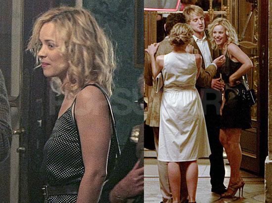 Pictures Of Rachel Mcadams And Owen Wilson Shooting Midnight In Paris Popsugar Celebrity