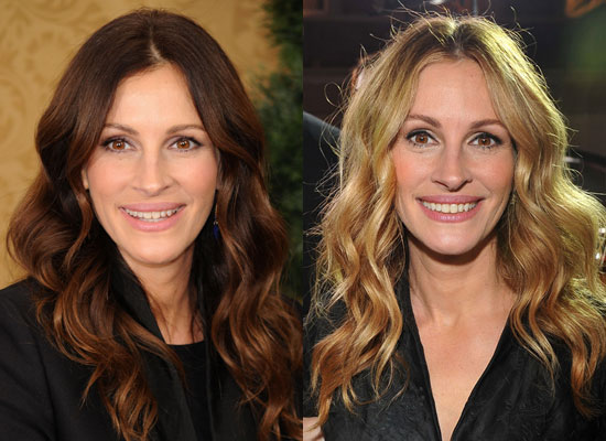 julia roberts hair colour. I think the colour works so