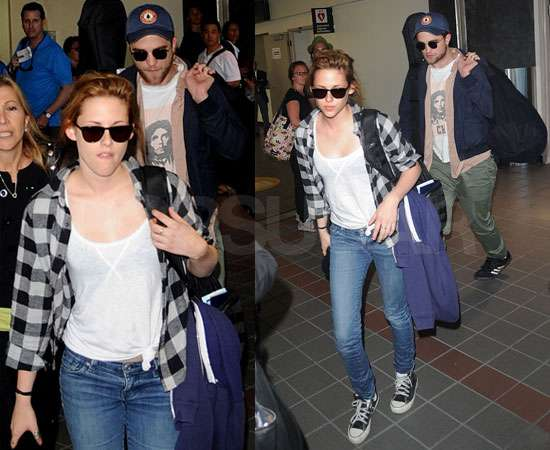 To see more pictures of Robert and Kristen, just read more.